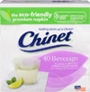 Chinet Classic White™ Beverage Napkins