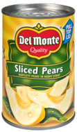 Del Monte Sliced Pears