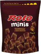 ROLO® Minis Chewy Caramels in Milk Chocolate