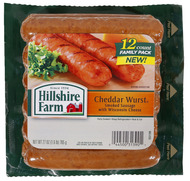 Hillshire Farm Cheddar Wurst Links