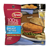 Tyson Fully Cooked Chicken Breast Patties