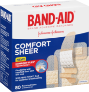 Band-Aid® Comfort Sheer Asst. Sizes