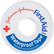 Johnson's First Aid Waterproof Tape