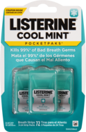 Listerine Cool Mint Breath Strips