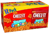 Cheez-It Scrabble Crackers Caddy Pack