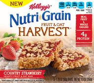 NutriGrain Fruit & Oat Harvest Bar - Country Strawberry