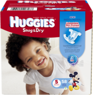 Huggies Snug N' Dry Sure Fit Diapers