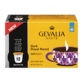 GEVALIA Dark Royal Roast Single Serve Cups