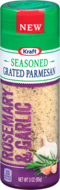 KRAFT Rosemary & Garlic Seasoned Grated Parmesan Cheese