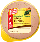 OSCAR MAYER Jalapeño & Cheese White Turkey