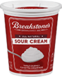 BREAKSTONE'S or KNUDSEN Sour Cream