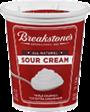 BREAKSTONE'S or KNUDSEN Sour Cream