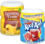 COUNTRY TIME or KOOL-AID Sugar-Sweetened Drink Mix