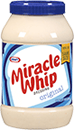 MIRACLE WHIP Dressing or KRAFT Real Mayo Mayonnaise