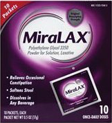 MiraLAX Single Dose Sachets