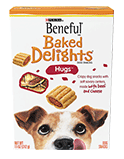 Beneful Baked Delights - Hugs with Beef & Cheese