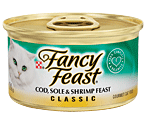 Fancy Feast - Cod, Sole, & Shrimp Feast