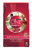 Purina One - Smartblend Small Bites Beef & Rice Formula