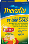Theraflu® Multi-Symptom Severe Cold w/Lipton