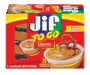 Jif® To Go™ Creamy Peanut Butter