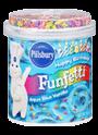 Pillsbury® Aqua Blue Vanilla Funfetti Frosting