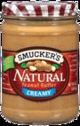 Smucker's® Natural Creamy Peanut Butter