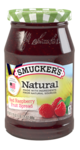 Smucker's® Natural Red Raspberry Fruit Spread