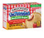 Smucker's® Uncrustables® Reduced Sugar Peanut Butter & Strawberry Spread on Whole Wheat