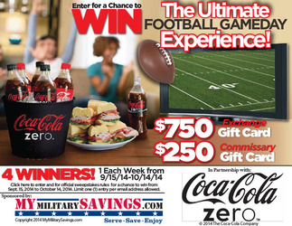 Coca-Cola Zero™ Ultimate Football Game Day Sweepstakes