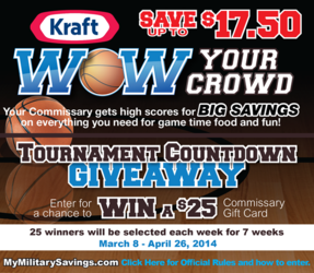 Kraft 2014 March Madness Sweepstakes