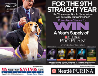 """Purina 2015 Pro Plan """"Fuel Your Dog"""" Sweepstakes"""