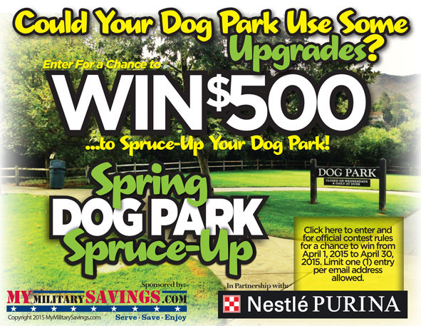 Purina 2015 Spring Spruce Up Sweepstakes