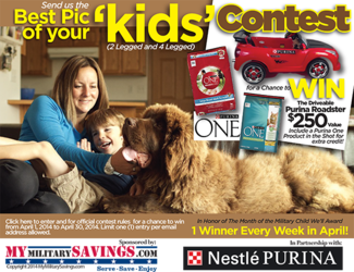 "Purina ""Kids"" Photo Contest"