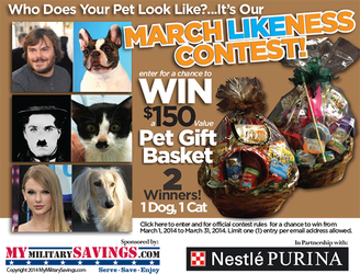 Purina March Likeness Contest