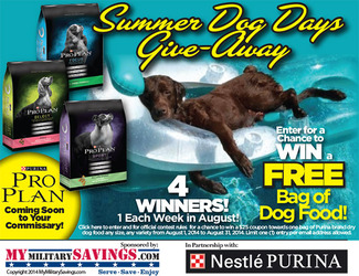 Purina Summer Dog Days Give-Away