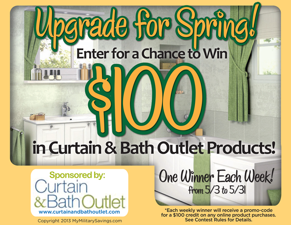 Curtain & Bath Outlet Giveaway